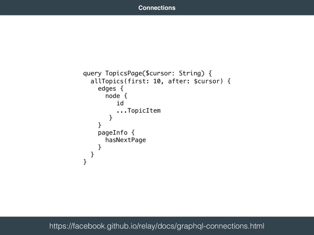 query TopicsPage($cursor: String) { allTopics(f...