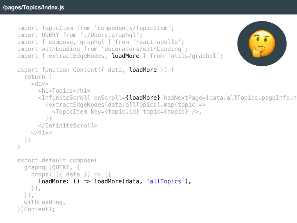 /pages/Topics/index.js import TopicItem from 'c...