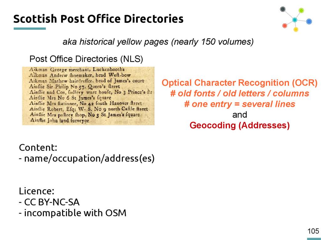 105 Scottish Post Office Directories Content: -...