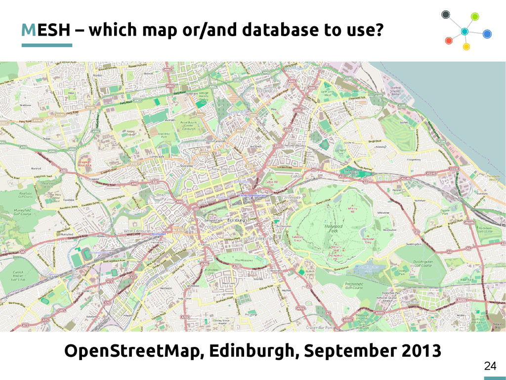 24 MESH – which map or/and database to use? Ope...
