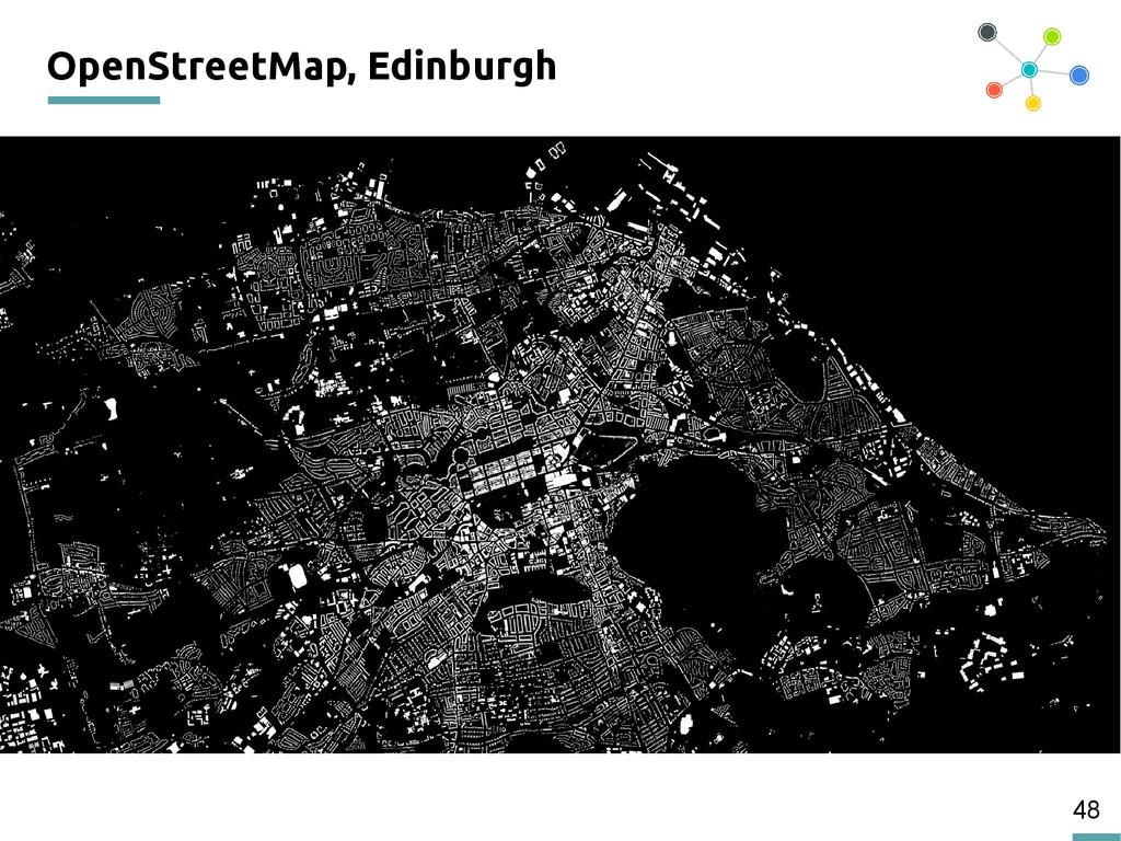 48 OpenStreetMap, Edinburgh