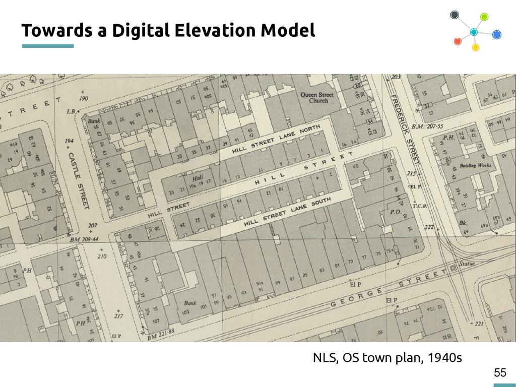 55 Towards a Digital Elevation Model NLS, OS to...