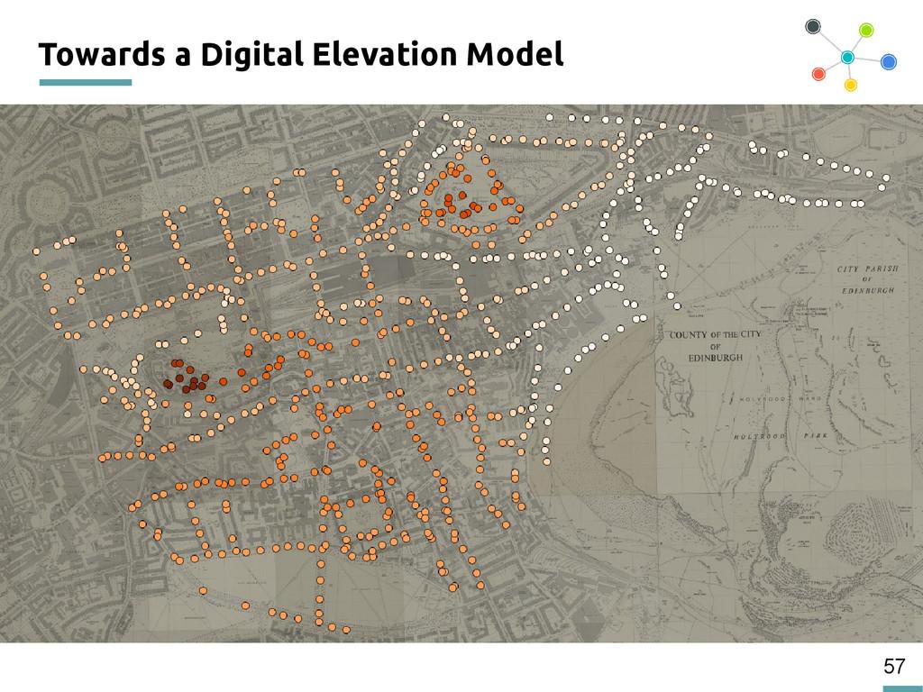 57 Towards a Digital Elevation Model