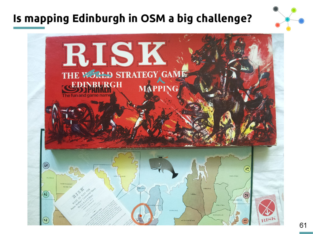 61 Is mapping Edinburgh in OSM a big challenge?