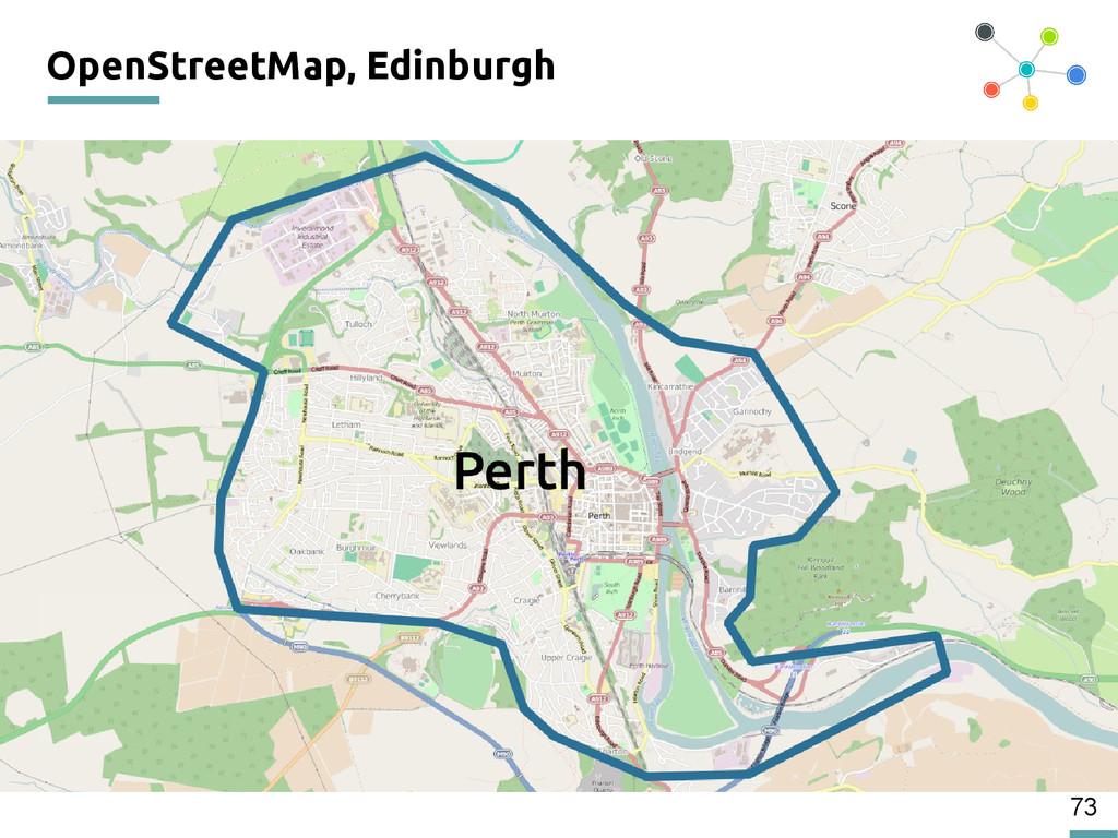 73 OpenStreetMap, Edinburgh 200
