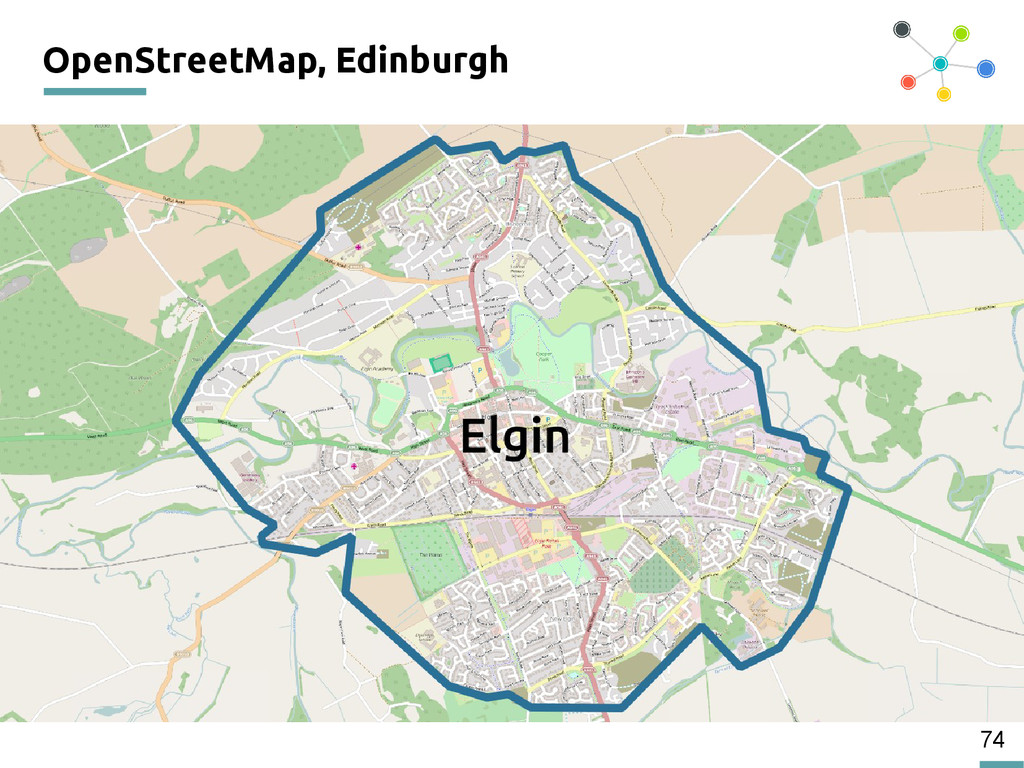 74 OpenStreetMap, Edinburgh 200
