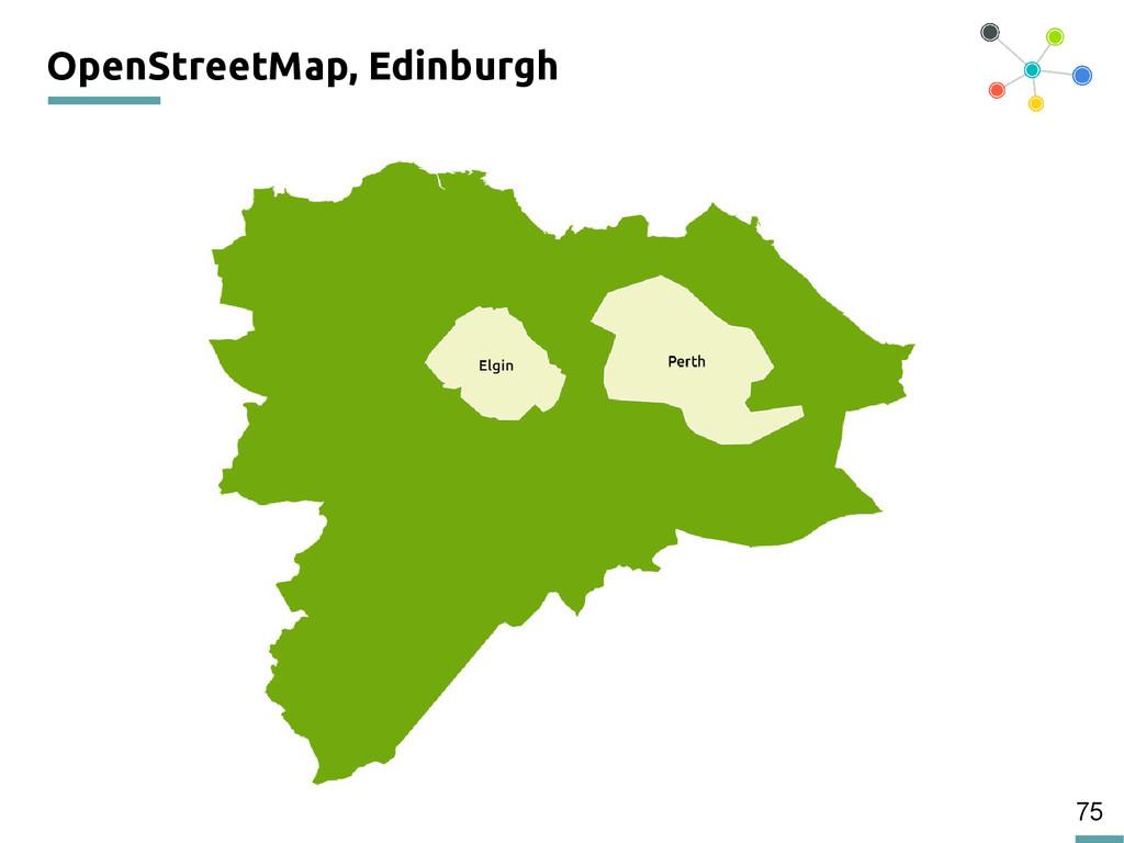 75 OpenStreetMap, Edinburgh 200