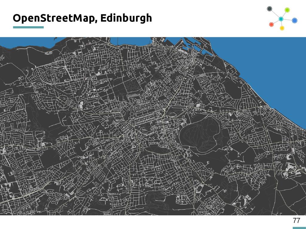 77 OpenStreetMap, Edinburgh 200