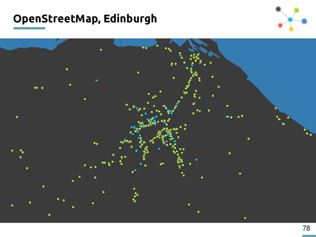 78 OpenStreetMap, Edinburgh 200