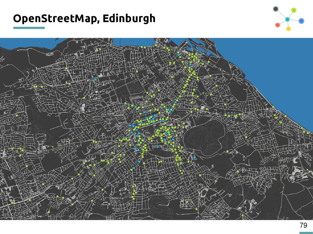 79 OpenStreetMap, Edinburgh 200