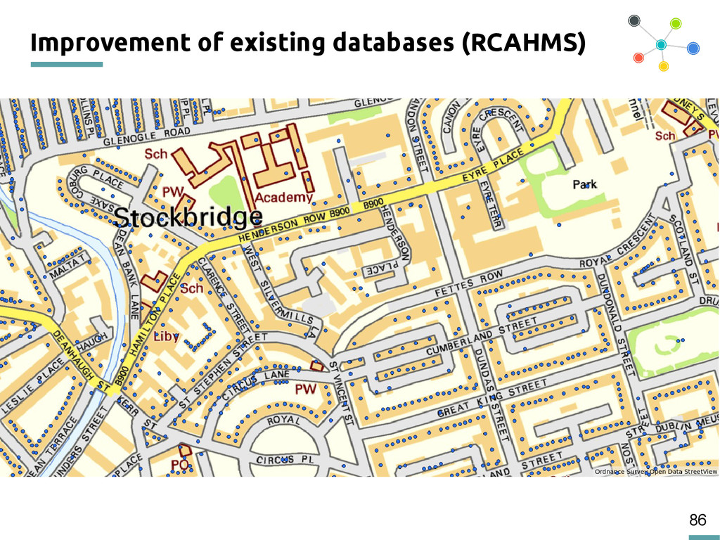 86 Improvement of existing databases (RCAHMS)