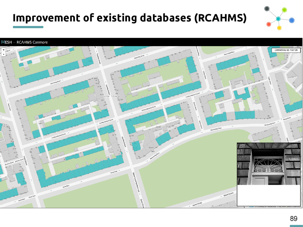 89 Improvement of existing databases (RCAHMS)