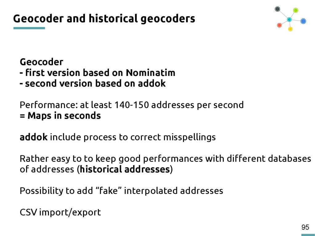 95 Geocoder and historical geocoders Geocoder -...