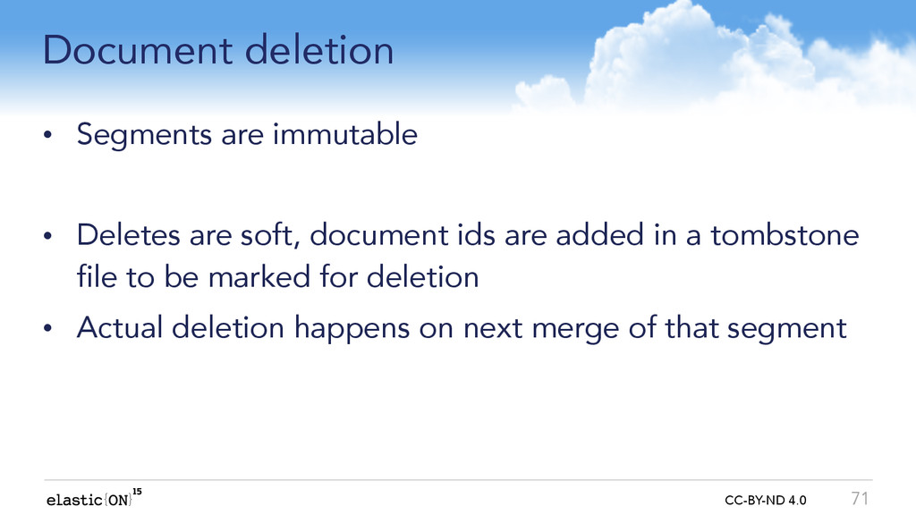 { } CC-BY-ND 4.0 Document deletion • Segments a...
