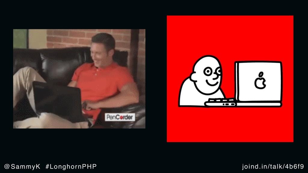 joind.in/talk/4b6f9 @SammyK #LonghornPHP