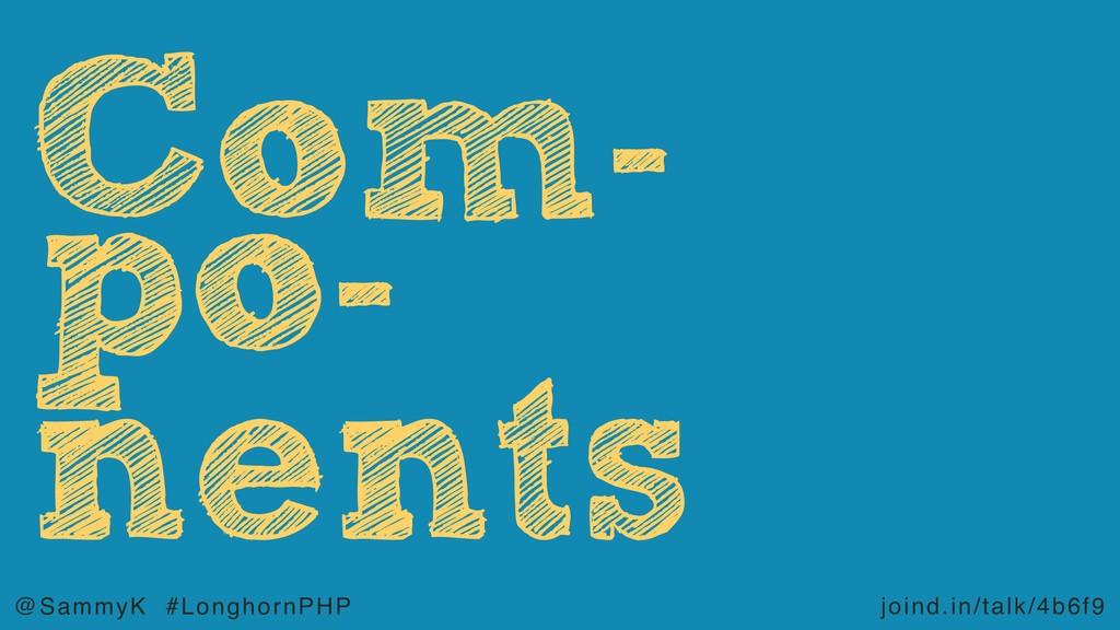 joind.in/talk/4b6f9 @SammyK #LonghornPHP po- ne...