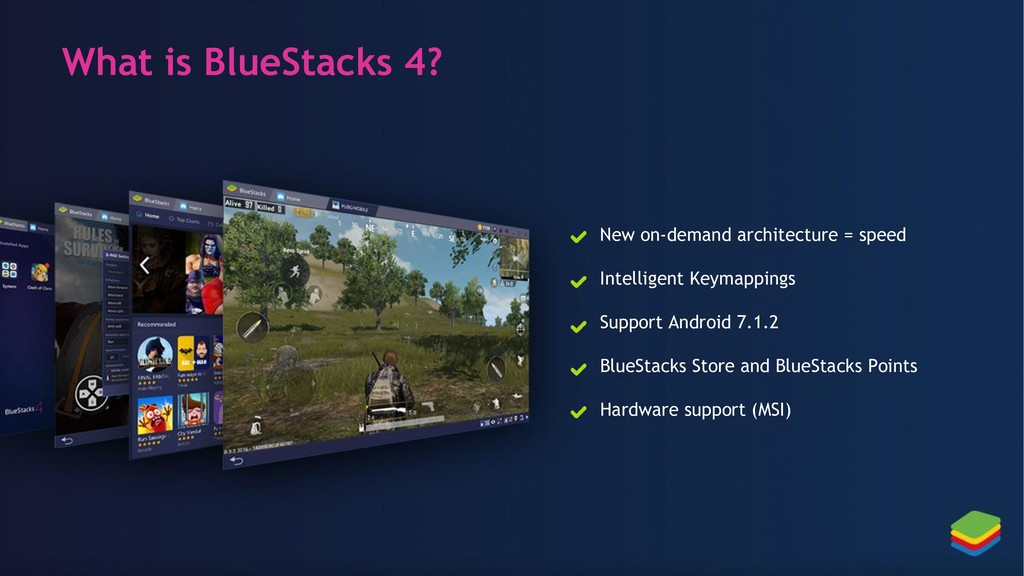 What is BlueStacks 4? New on-demand architectur...