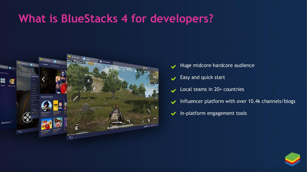 What is BlueStacks 4 for developers? Huge midco...
