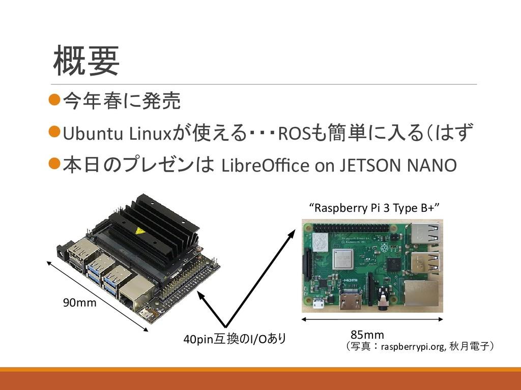 概要  今年春に発売 Ubuntu Linuxが使える・・・ROSも簡単に入る(はず 本...