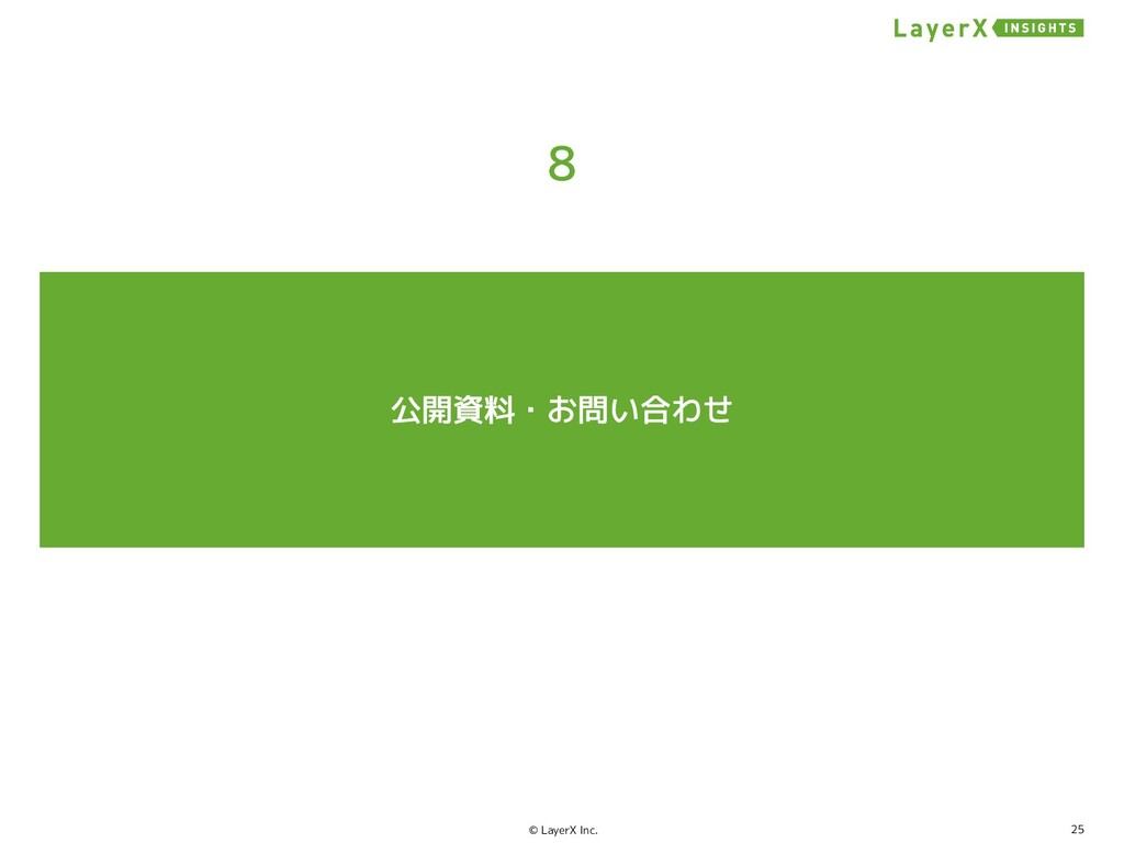 25 © LayerX Inc.