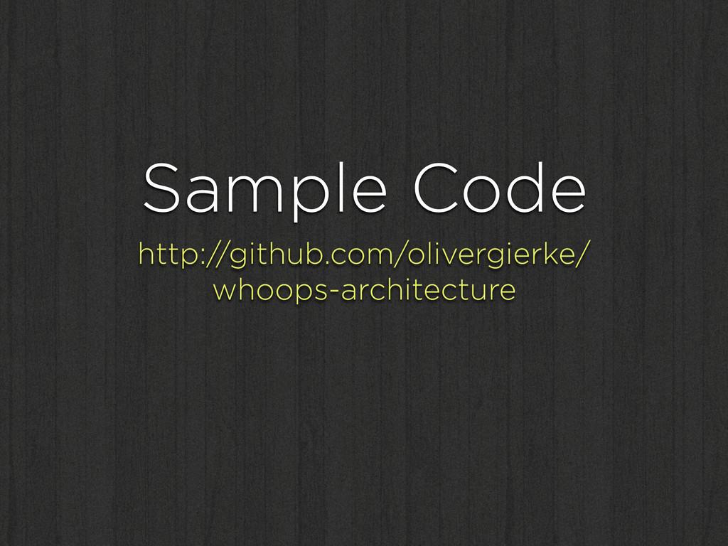 Sample Code http://github.com/olivergierke/ wh...