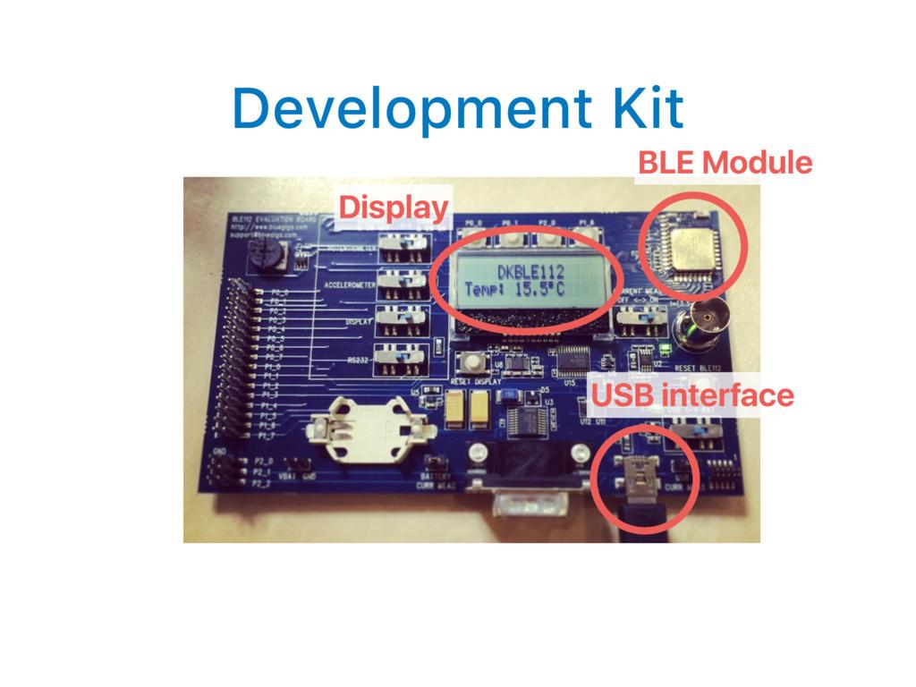 Development Kit BLE Module Display USB interface