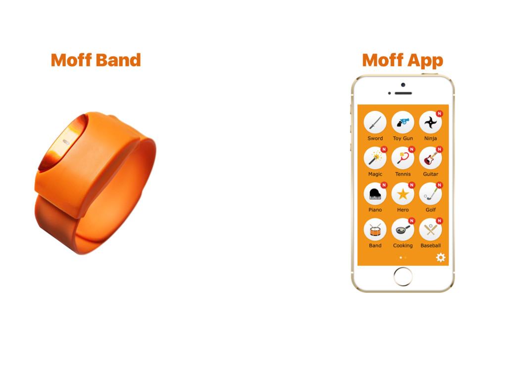 Moff Band Moff App