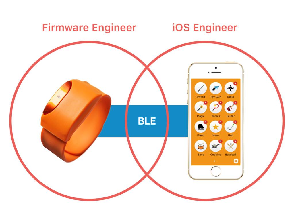 BLE Firmware Engineer iOS Engineer