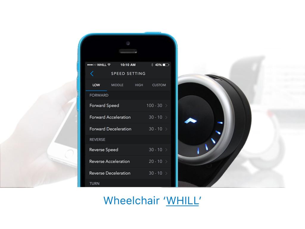 Wheelchair 'WHILL'