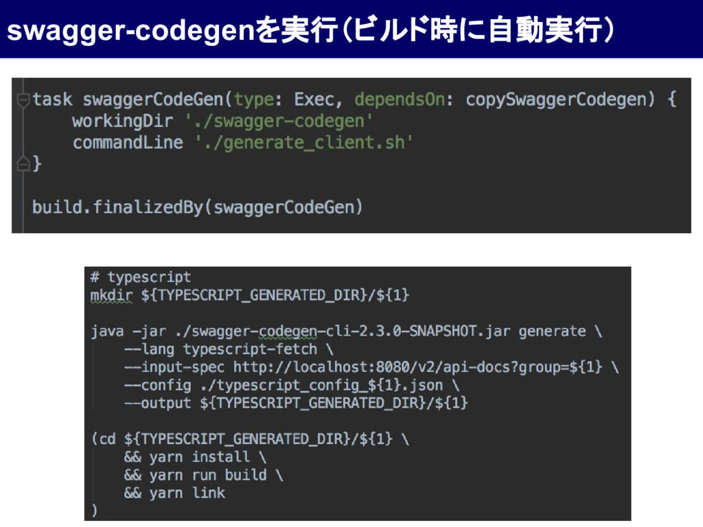 swagger-codegenを実行(ビルド時に自動実行)