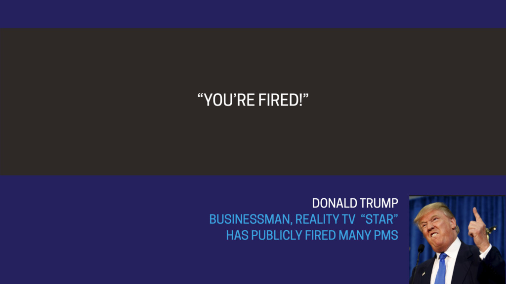 """YOU'RE FIRED!"" DONALD TRUMP BUSINESSMAN, REALI..."