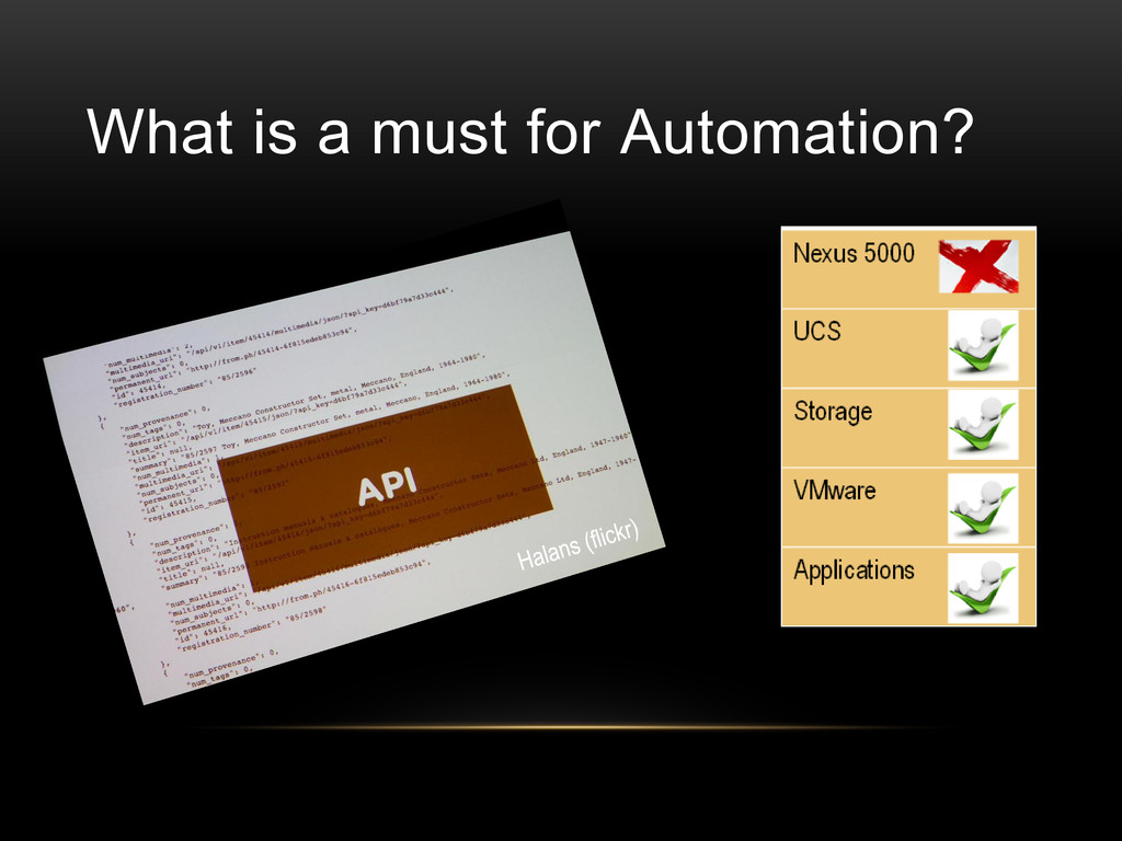 What is a must for Automation?