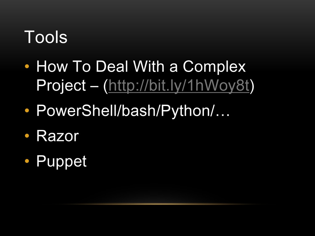 Tools • How To Deal With a Complex Project – (h...