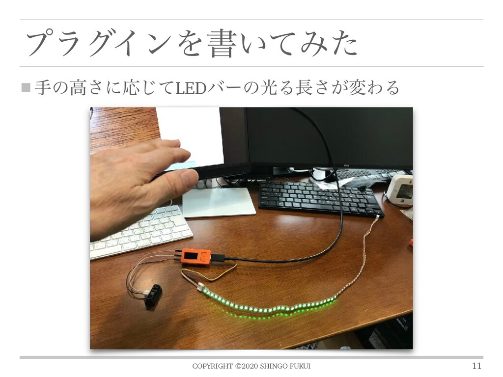 COPYRIGHT ©2020 SHINGO FUKUI ϓϥάΠϯΛॻ͍ͯΈͨ खͷߴ͞ʹԠ...