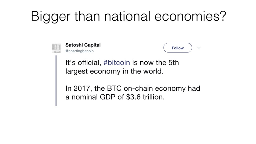 Bigger than national economies?