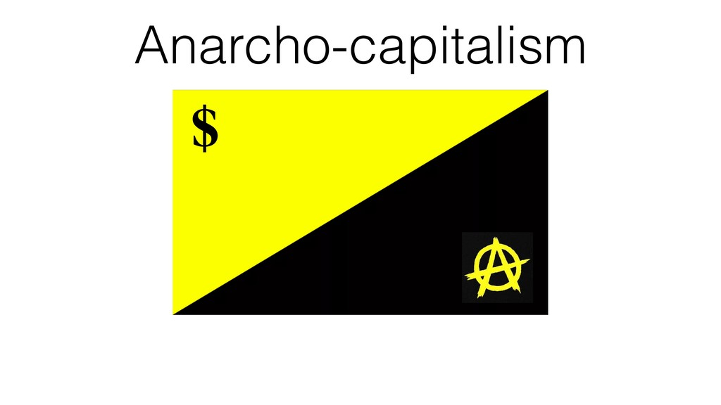 $ Anarcho-capitalism