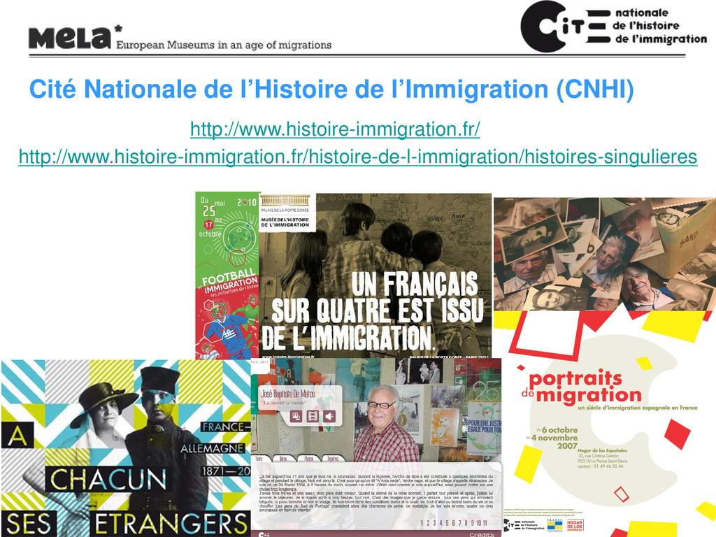 Cité Nationale de l'Histoire de l'Immigration (...