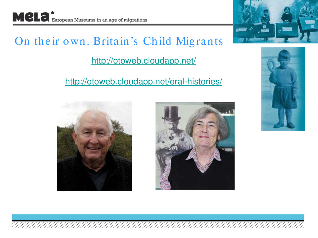 On their own. Britain's Child Migrants http://o...