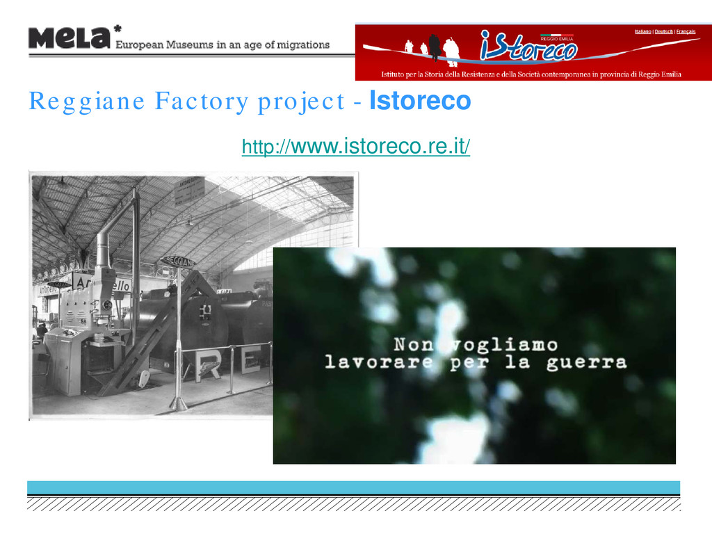 http://www.istoreco.re.it/ Reggiane Factory pro...