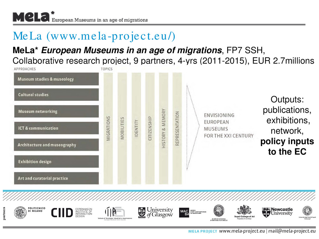 MeLa* European Museums in an age of migrations,...