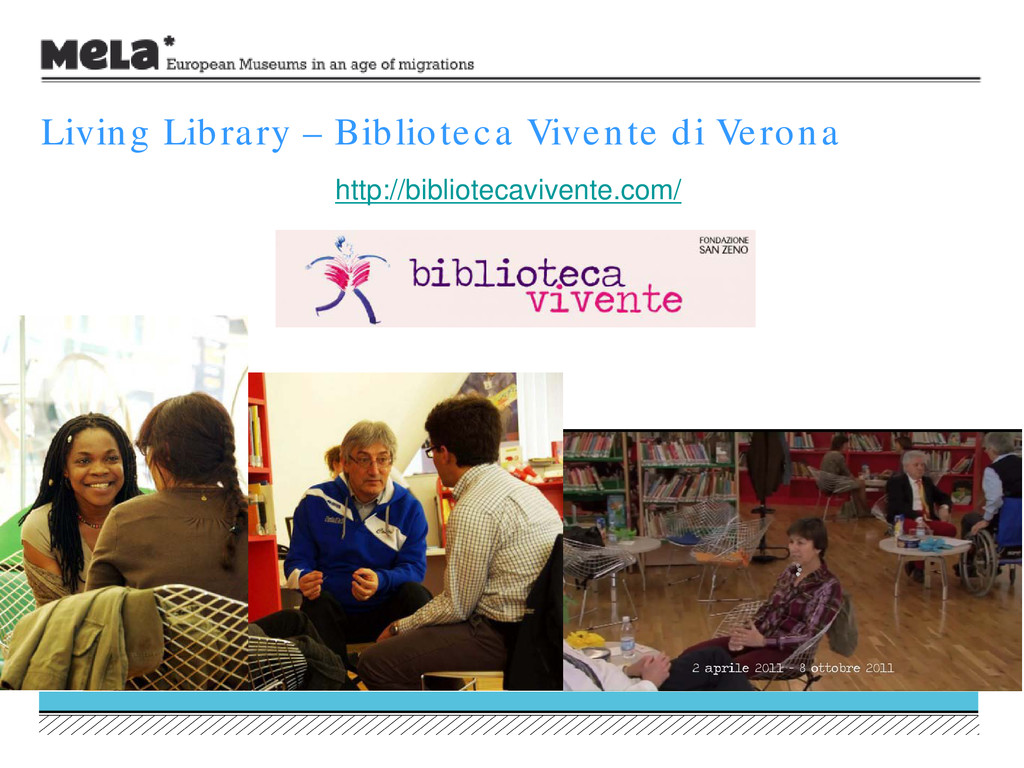 Living Library – Biblioteca Vivente di Verona h...