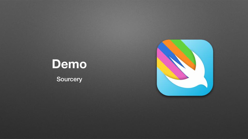 Demo Sourcery