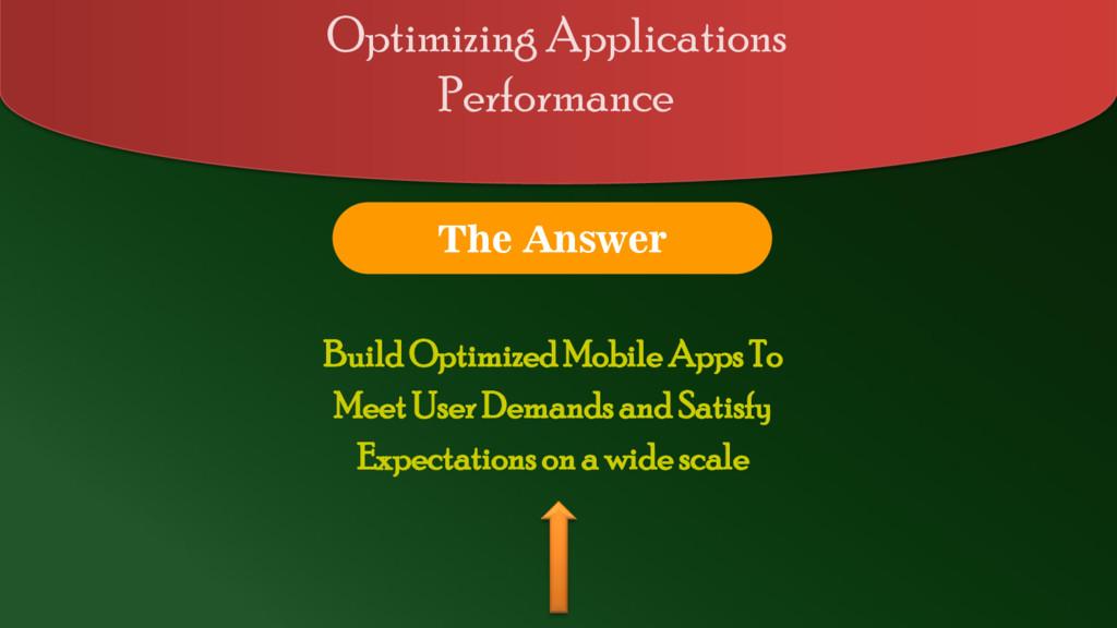Build Optimized Mobile Apps To Meet User Demand...