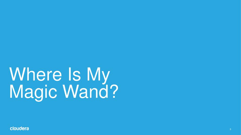 3 Where Is My Magic Wand?