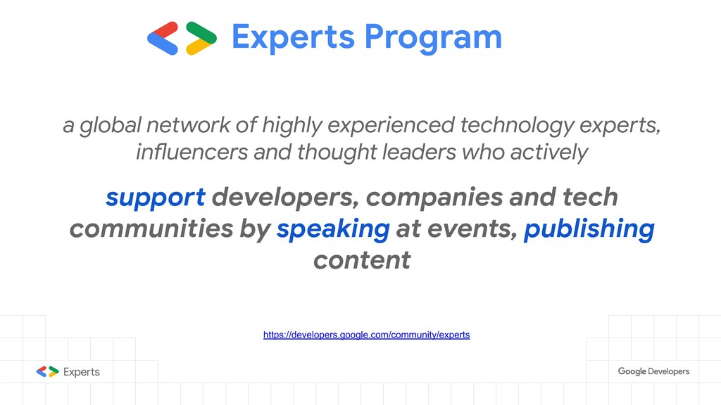 Experts Program a global network of highly expe...