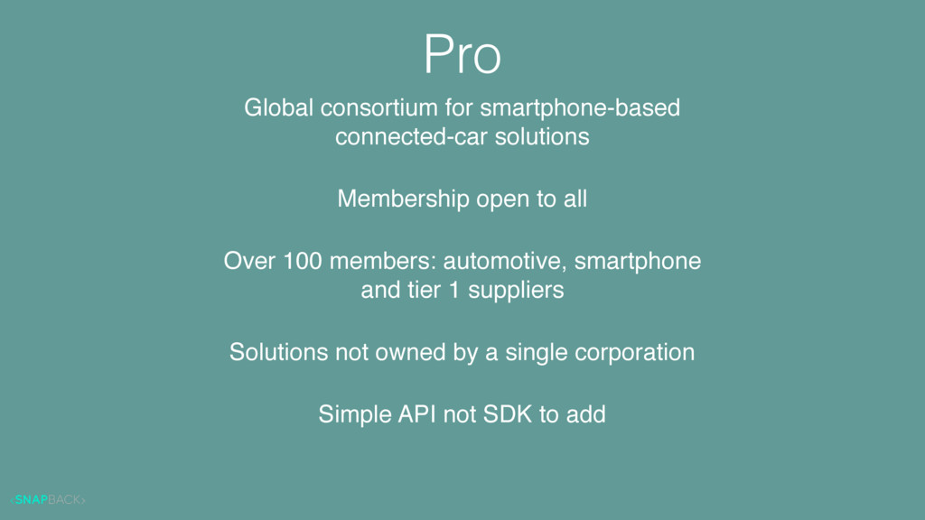 Global consortium for smartphone-based 