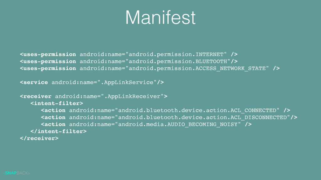 """Manifest <uses-permission android:name=""""android..."""