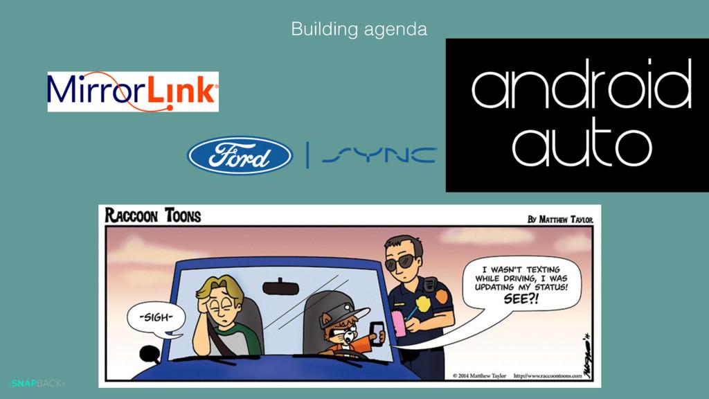 Building agenda
