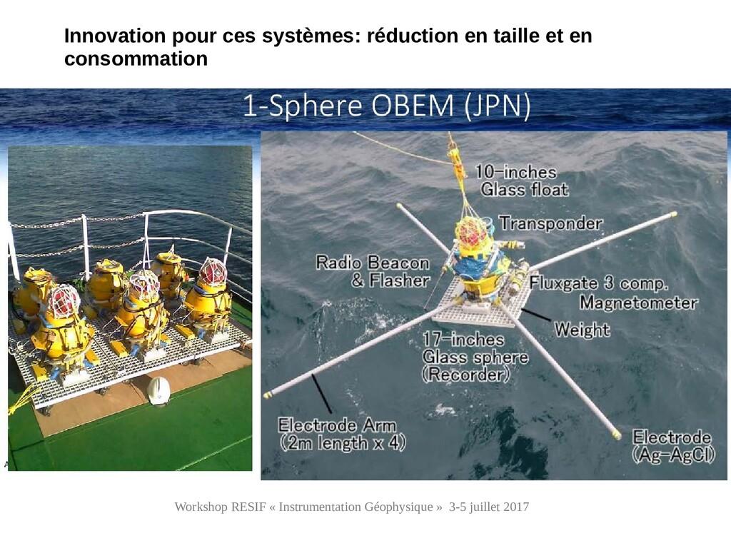 Workshop RESIF « Instrumentation Géophysique » ...
