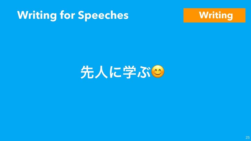 Writing for Speeches  ઌਓʹֶͿ Writing